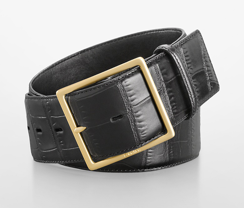 Black Croco Belt