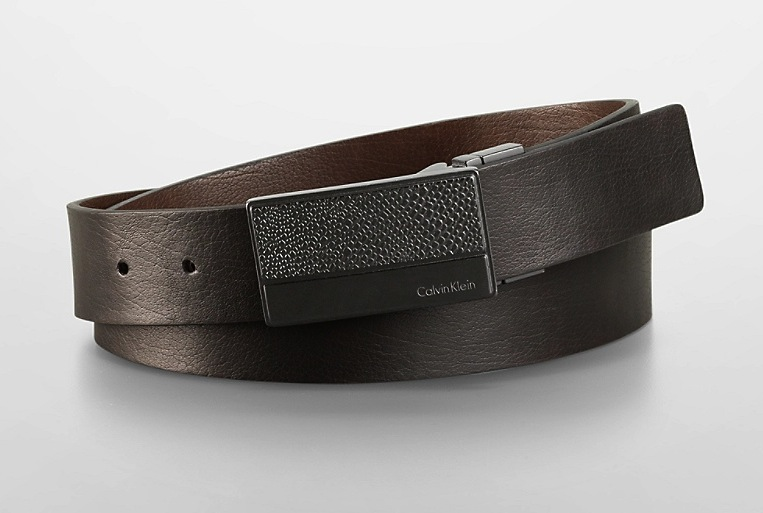 Pebbled Plaque Belt