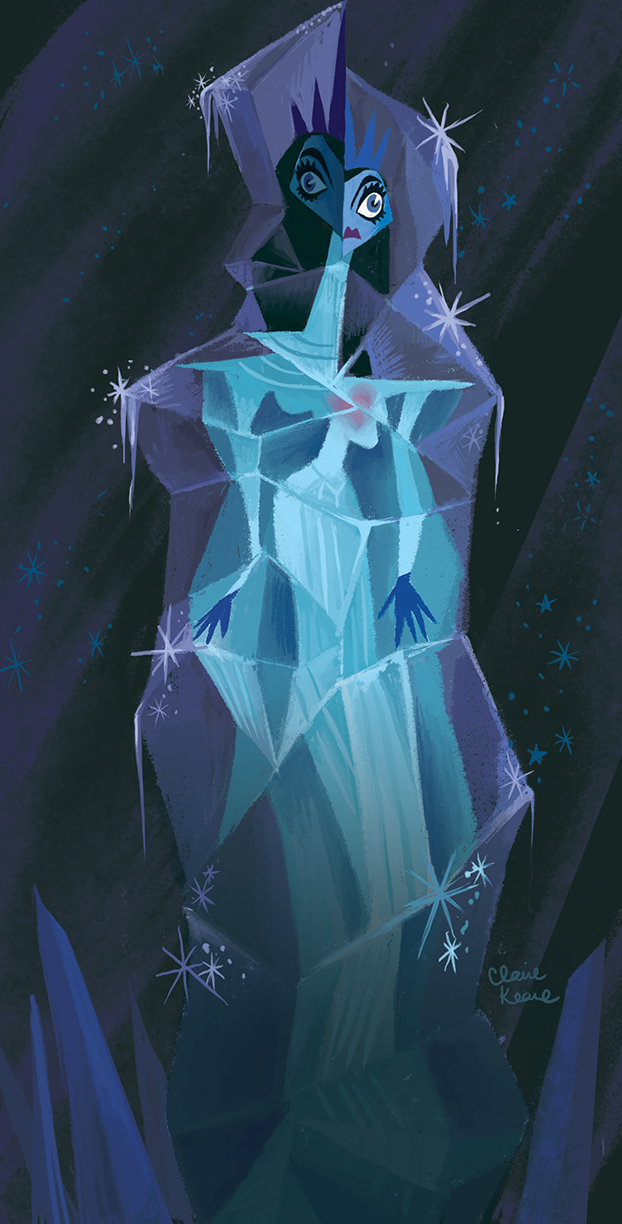 FROZEN SNOW QUEEN  VISUAL DEVELOPMENT FOR FROZEN