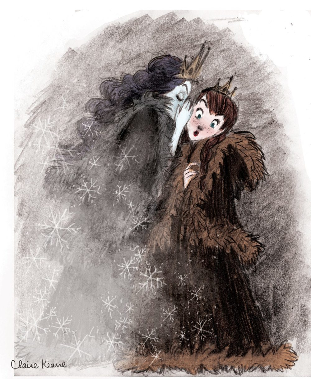 ANNA AND ELSA: SISTER SECRETS   VISUAL DEVELOPMENT FOR FROZEN