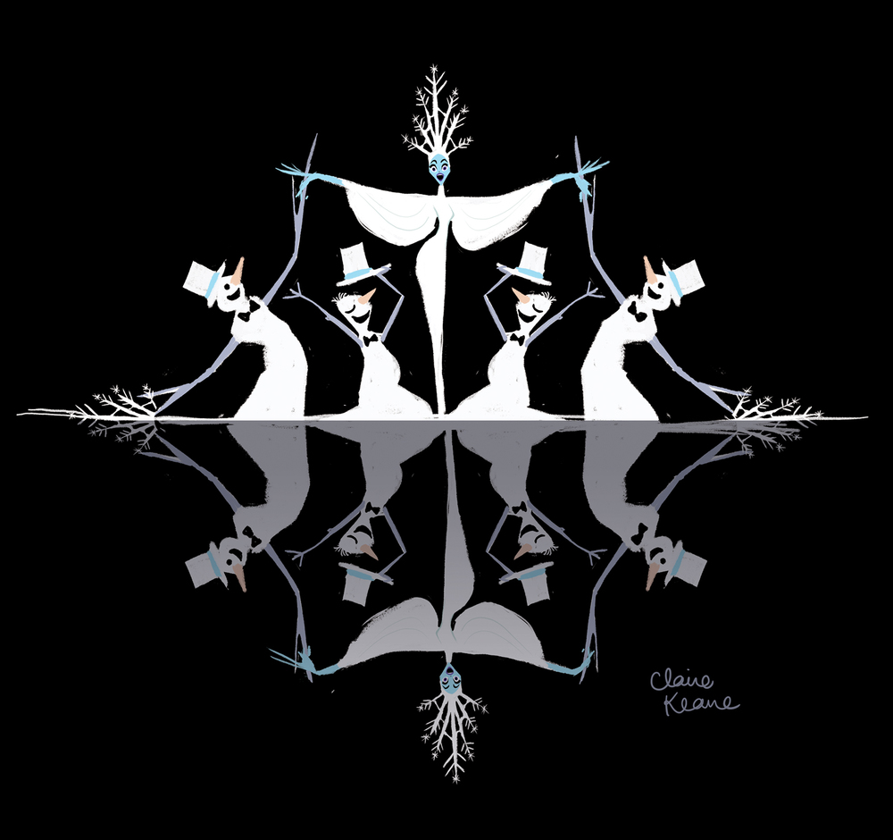 SNOW QUEEN MUSICAL NUMBER // VISUAL DEVELOPMENT FOR FROZEN