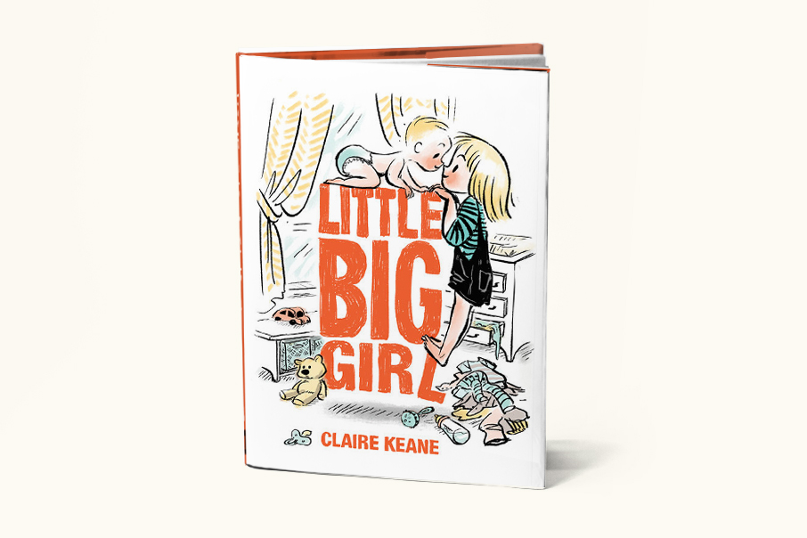 Little Big Girl  by Claire Keane (Dial/Penguin, 2016)