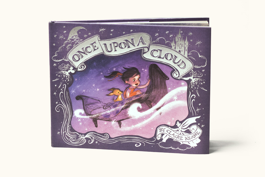 Once Upon A Cloud  by Claire Keane (Dial/Penguin, 2015)