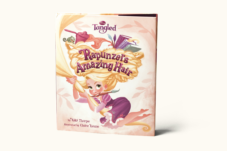 Rapunzel's Amazing Hair    Written by Kiki Thorpe, Illustrated by Claire Keane  (Disney/Hyperion, 2010)