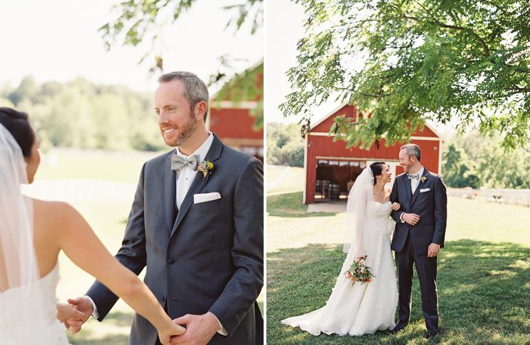 Virginia Fine Art Film Wedding Photographer | Westwood Inn Wedding First look