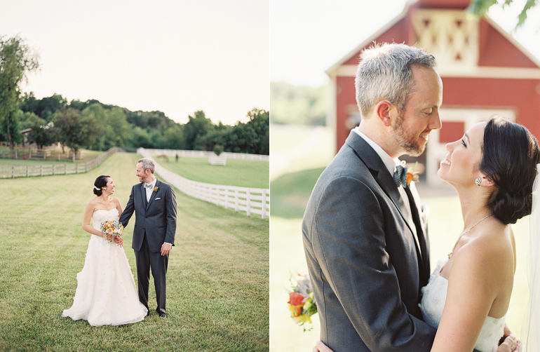 Virginia Fine Art Film Wedding Photographer | Westwood Inn Wedding Couple