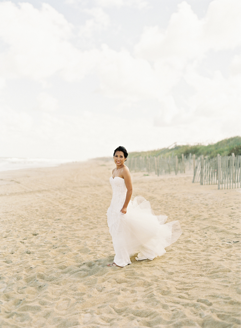 Vicki Grafton Photographer | Duck NC Fine Art Film Wedding Photographer | Sanderling Resort Wedding