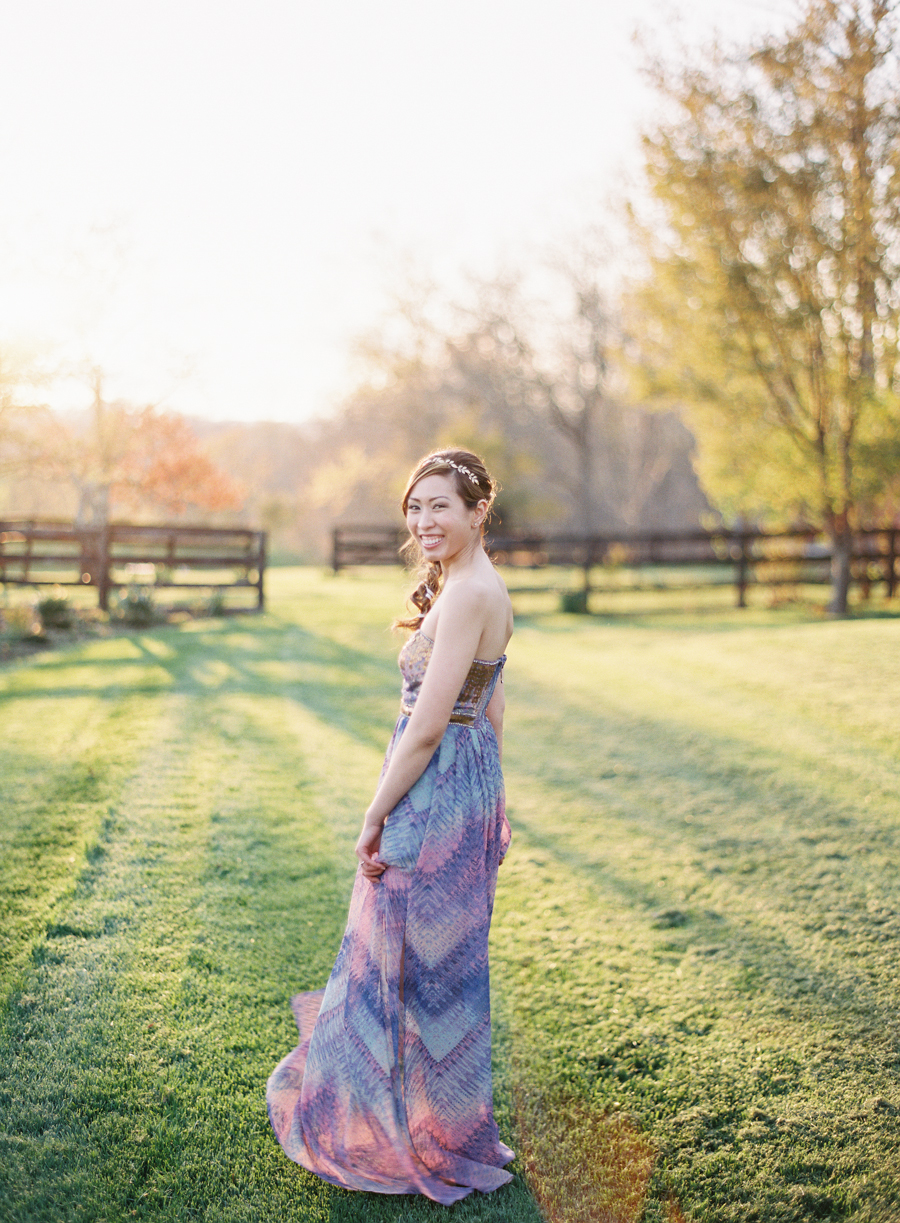 Middleburg Virginia Goodstone Inn Film Wedding Photographer
