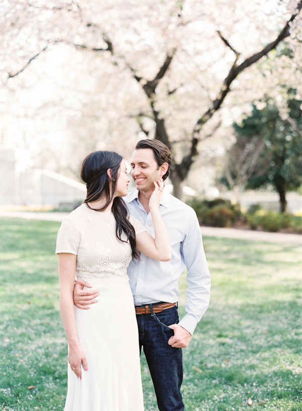 Vicki Grafton Photography | DC Cherry Blossom Session | Middleburg Virginia Goodstone Inn Film Wedding Photographer | Charlottesville Wedding Photographer