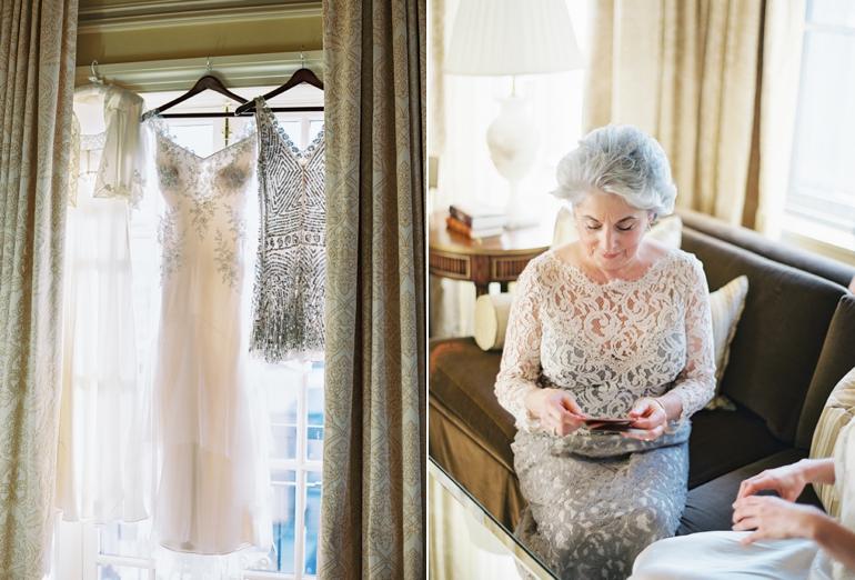 Classic Meridian House DC Wedding | DC Fine Art Film Wedding Photographer  | Bride Getting Ready at The Jefferson DC