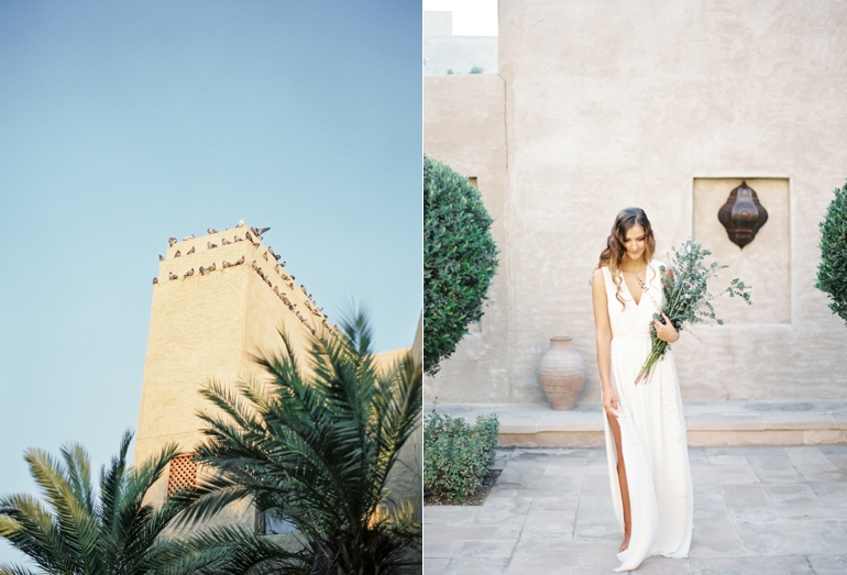 Vicki Grafton Photography | Fine Art Film Destination Wedding Photography | Bab Al Shams Wedding  | Makeup and Hair  Katharina Sherman  | Vintage Dress  Shot Gossamer   | Location  Bab Al Shams