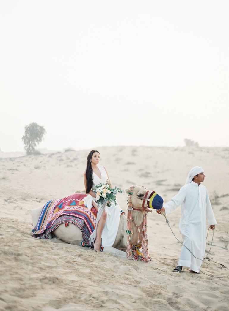 Dubai Desert Bridal | Dubai Destination Fine Art Wedding Photographer