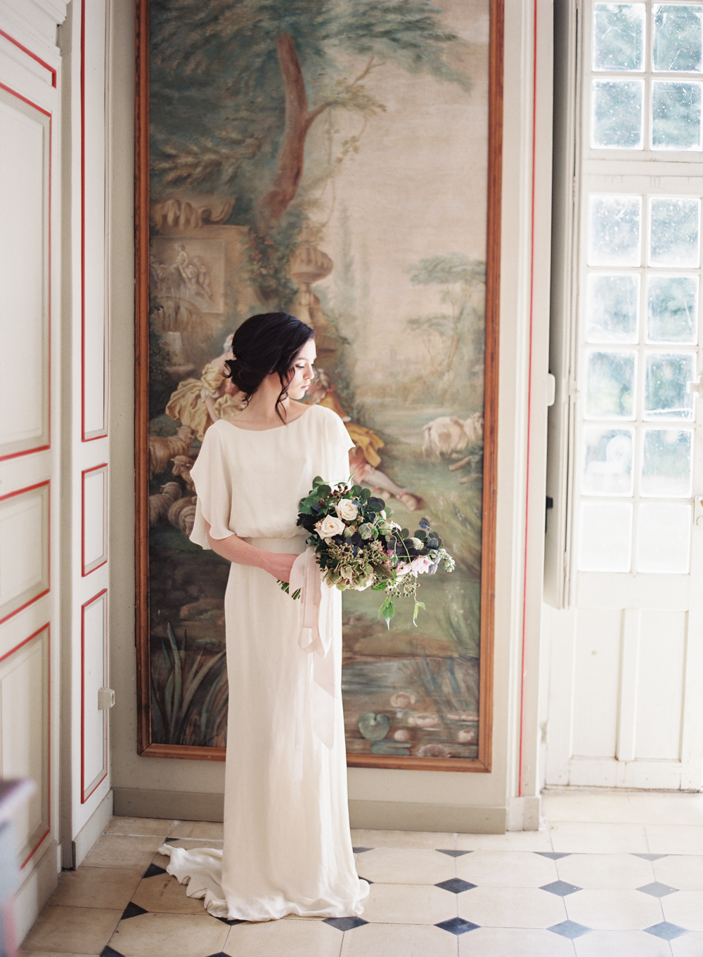 Vicki Grafton Photography Paris Fracne Chateau wedding  Film Wedding photographer -11.jpg