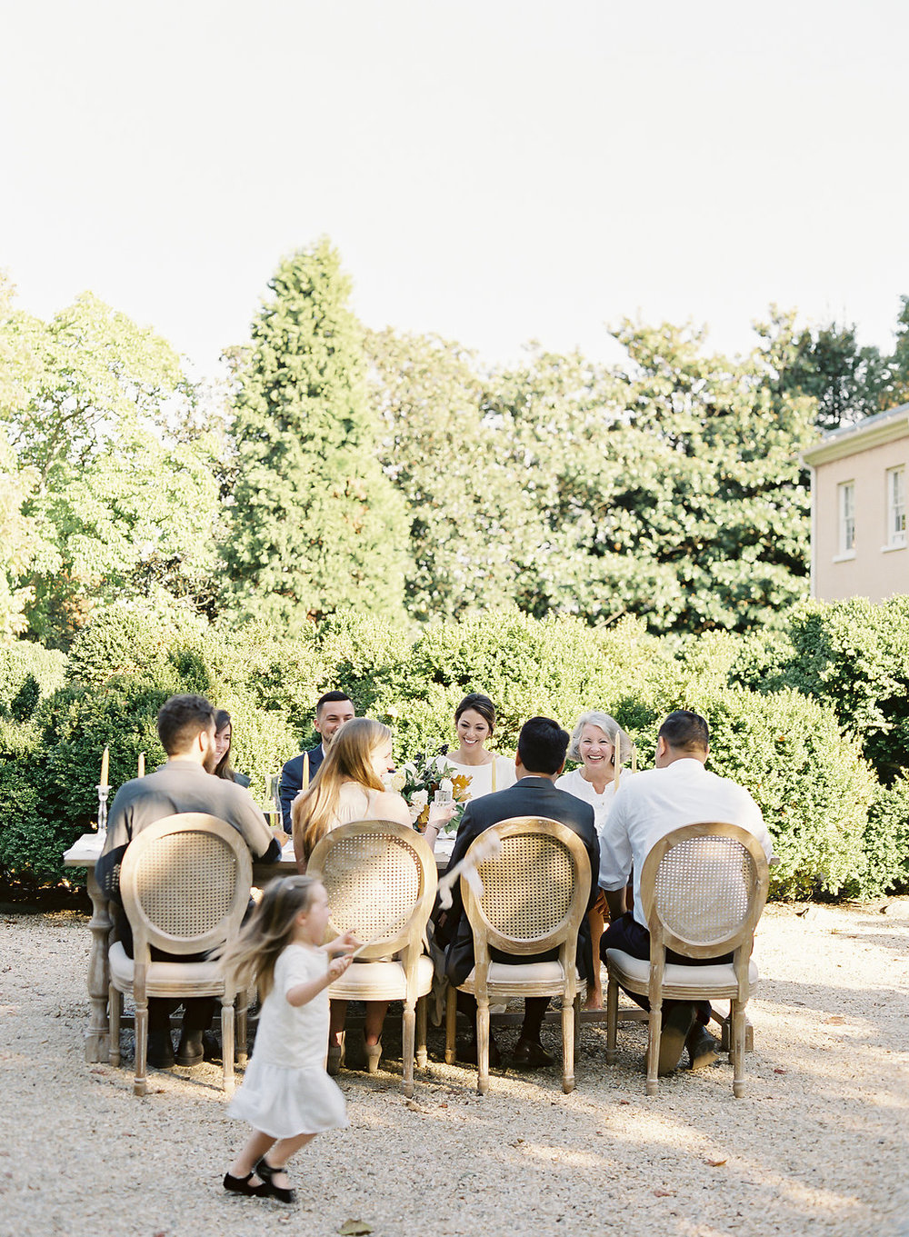Fine art film photographer photography wedding engagement washington DC georgetown virginia modern bride destination inspiration tuscan inspired minimal classic timeless california ny dining al fresco