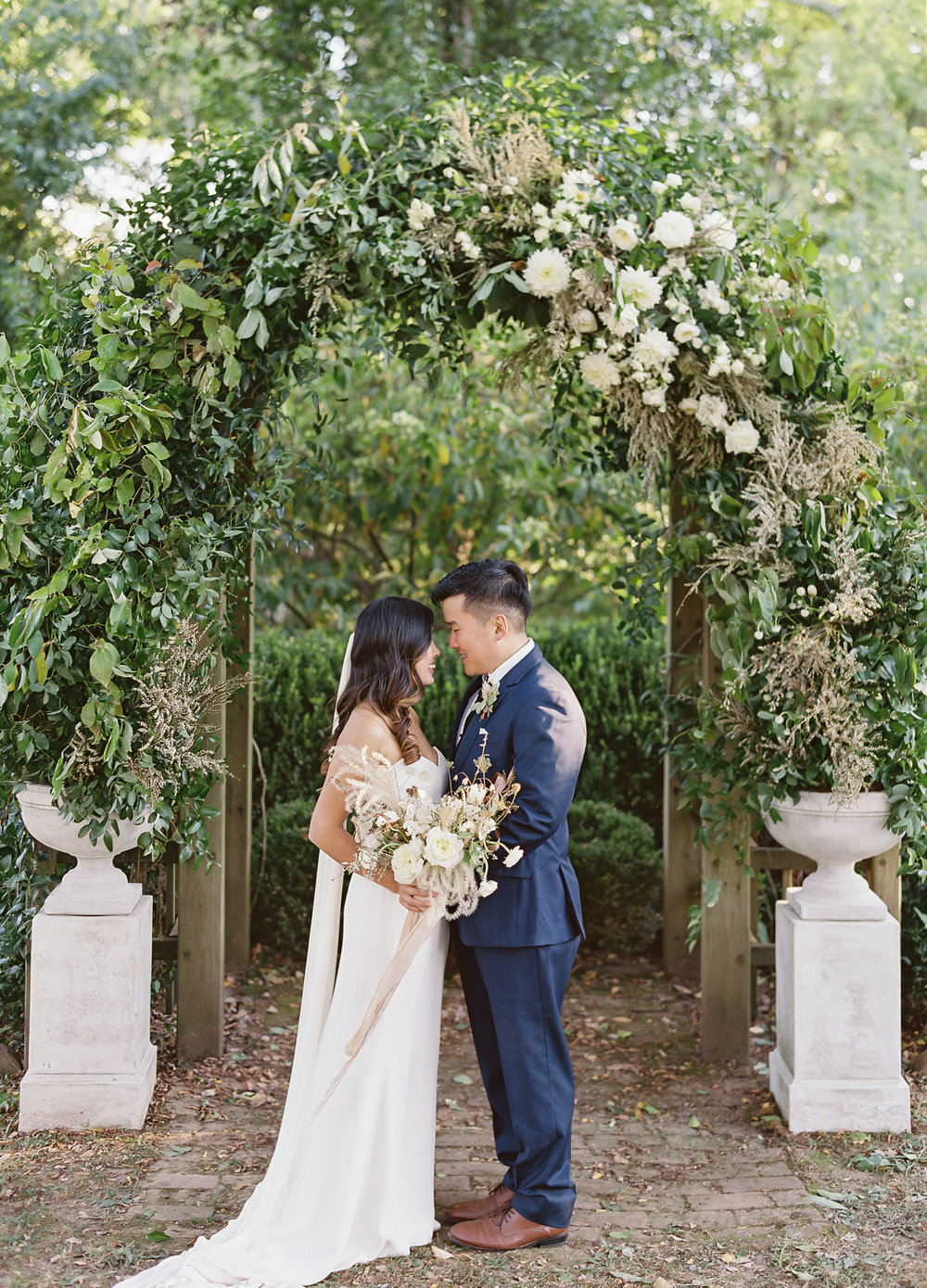Tuckahoe Plantation Virginia Wedding Featured Martha Stewart