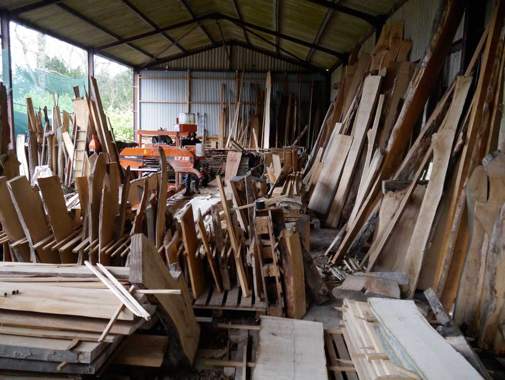A feast of really good native hardwoods, and you know exactly where they came from.