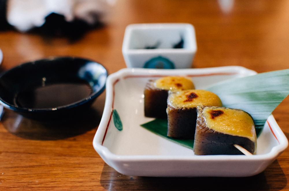 Kobachi  Sweet Miso-Glazed Konnyaku
