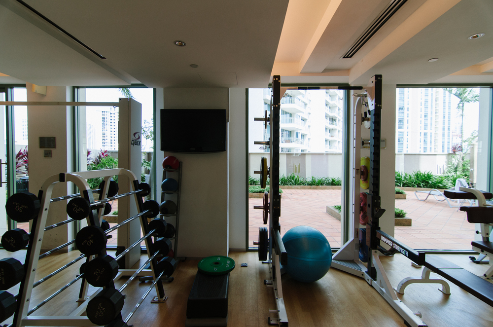 Grand Copthorne Waterfront Singapore - Gym
