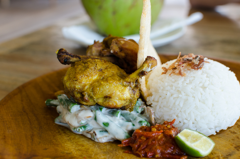 "Montigo ""Ayam Panggang Berempah"" (IDR 110,000++) - approx. S$15 after taxes"