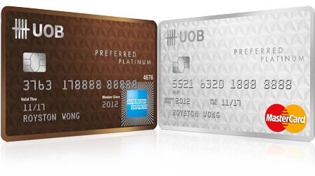 Image result for uob preferred platinum amex