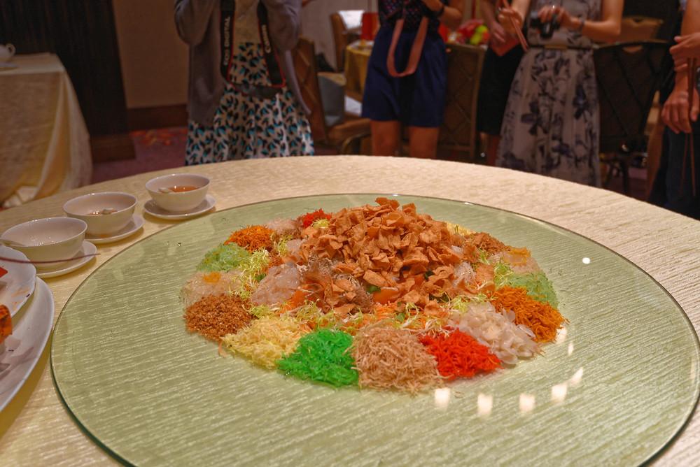 Lobster 'Yu Sheng Loh Hei' Platter