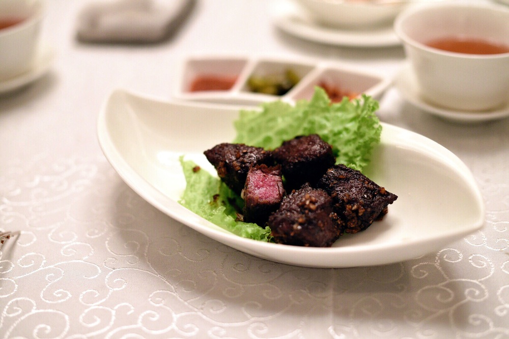 Cantonese-style Stir-fried Wagyu Beef