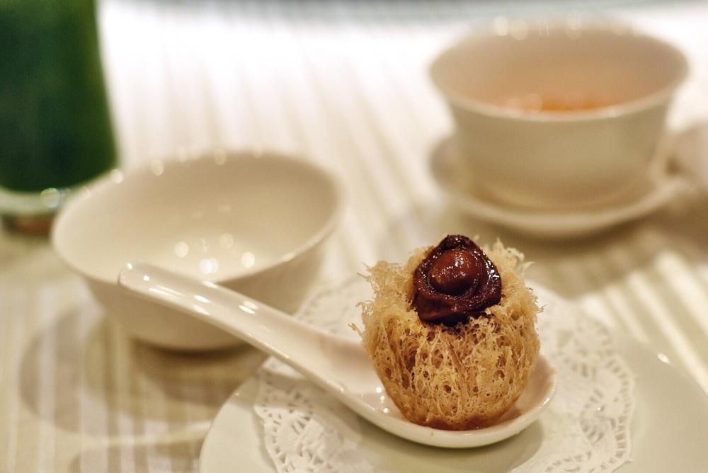 Abalone and Taro Puff