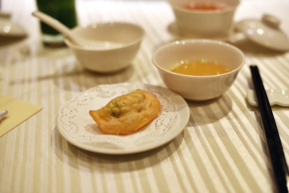 Crispy Shrimp Dumpling and Supreme Soup