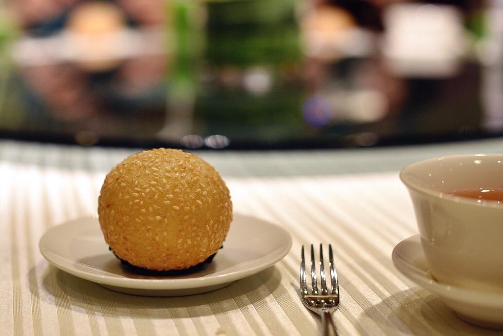 Crispy Sesame Sticky Rice Flour Ball