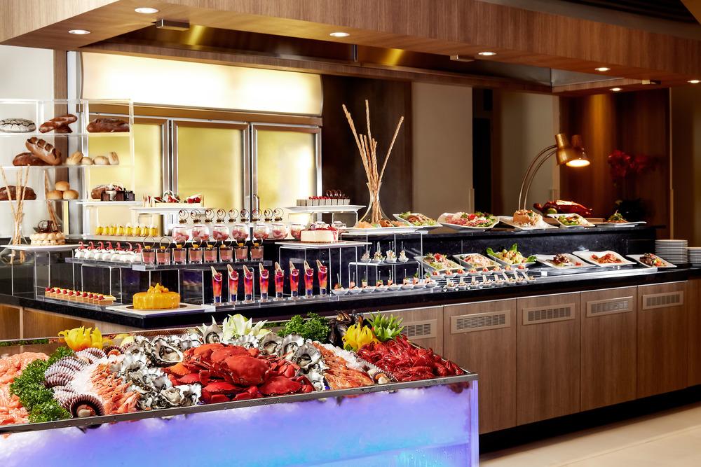 International Buffet at the Carlton Hotel Singapore