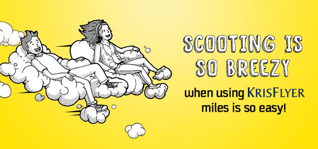 KrisFlyer Miles on Scoot