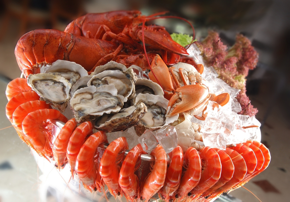 Fresh seafood at Orchard Hotel Singapore