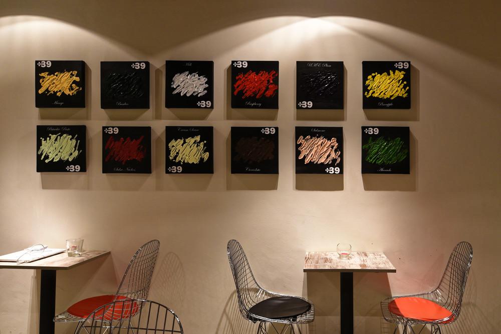 The Interiors of +39 Gelato Bar