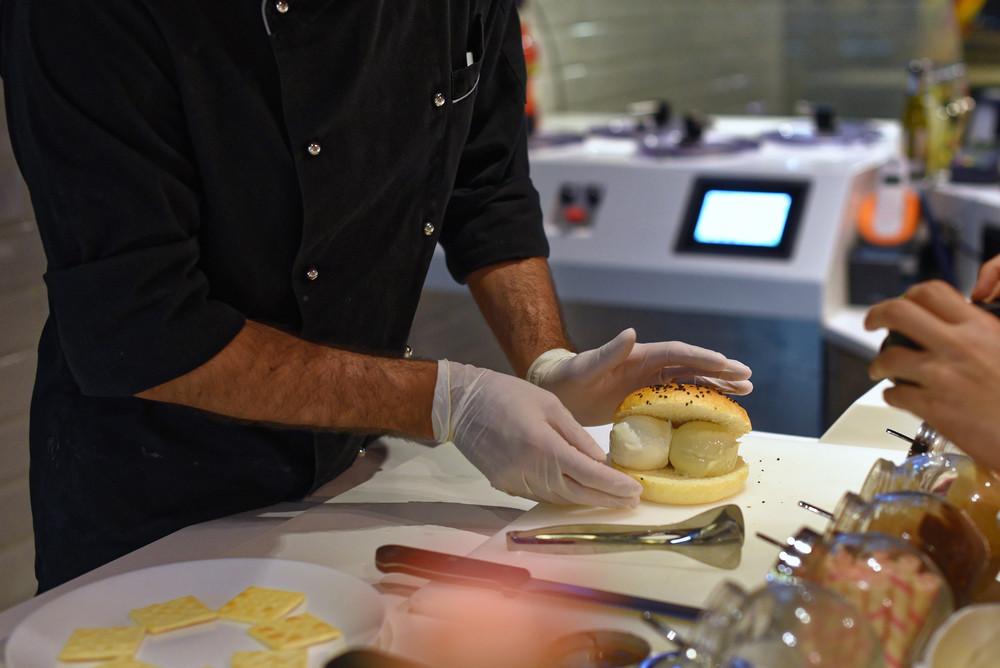 Gelato Brioche Sandwich at +39 Gelato Bar
