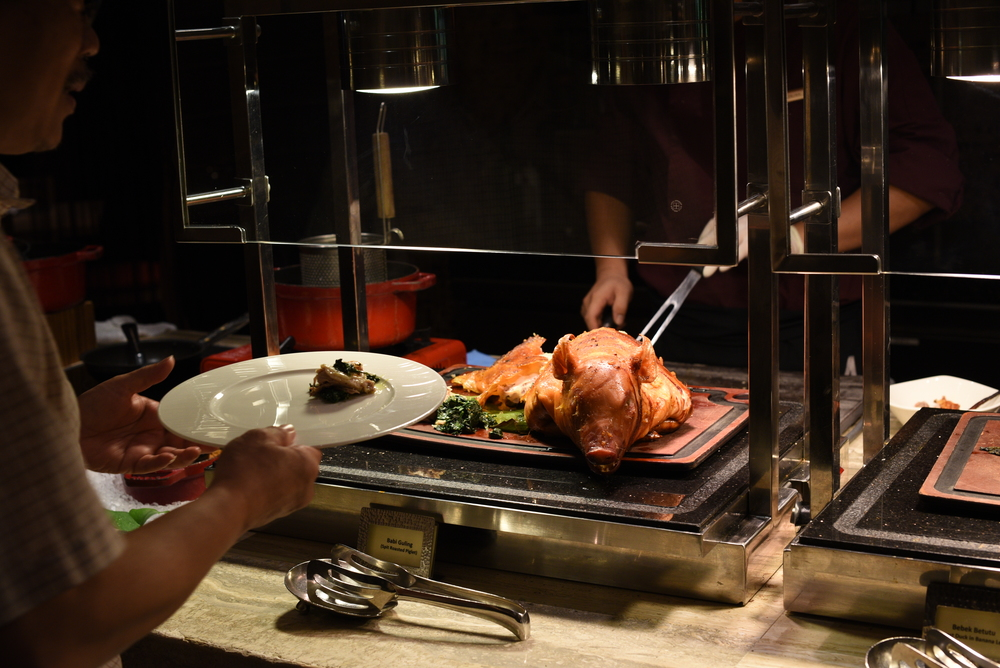 Live Carving Station at the MELT ~ The World Café (The Mandarin Oriental, Singapore)00