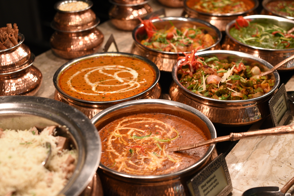 Indian Cuisine at the  MELT ~ The   World Café   at The Mandarin Oriental, Singapore