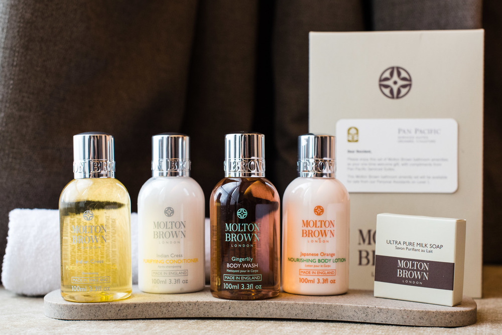 Welcome Amenity - A Box of Molton Brown Bath Amenities