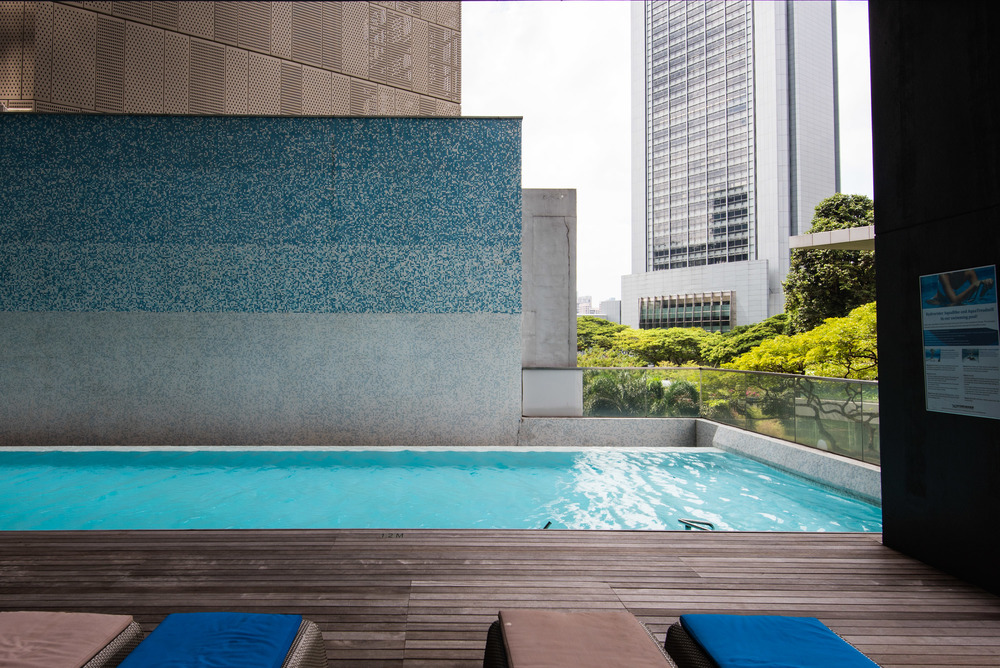 Hotel review pan pacific orchard road serviced suites - Pan pacific orchard swimming pool ...