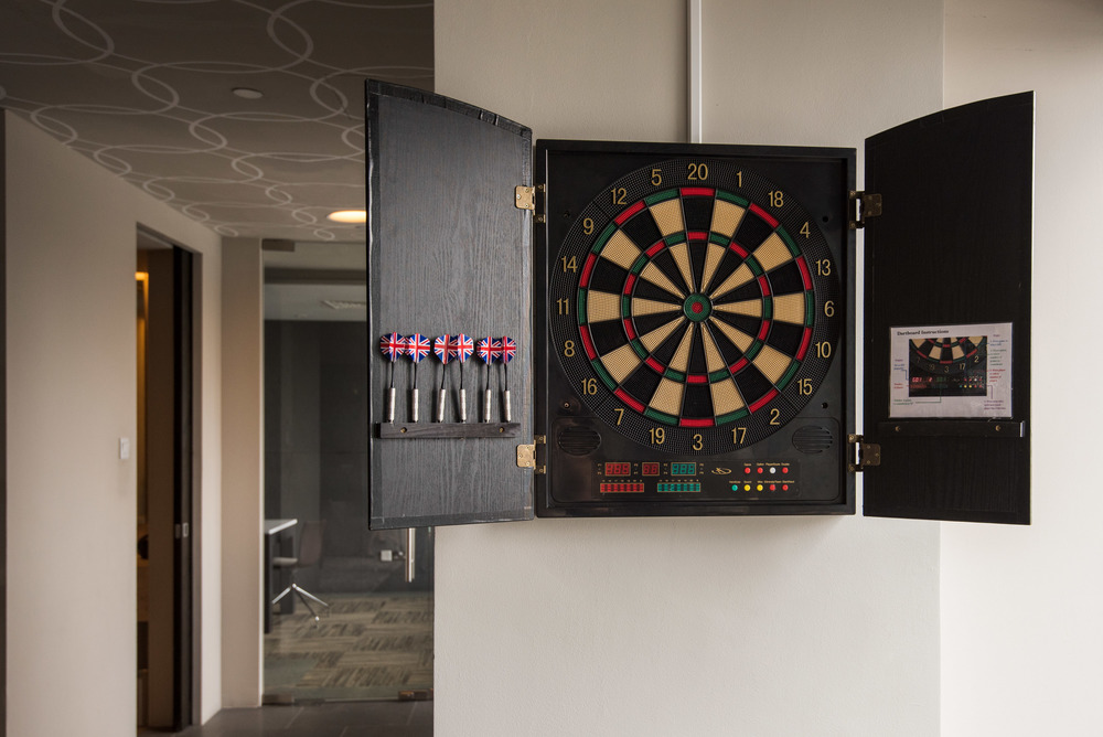 Electronic Dartboard at The Living Room
