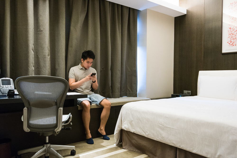 Complimentary WiFi in the Pan Pacific Orchard Road Serviced Suites