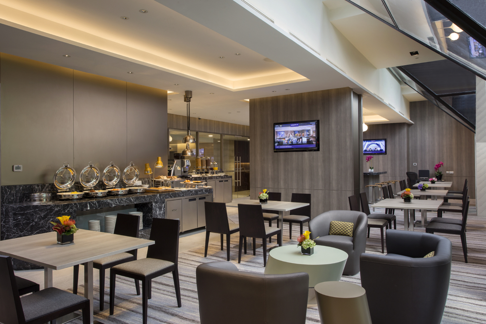Executive Club Lounge of the Carlton Hotel Singapore  | Photo Credit: Carlton Hotel Singapore