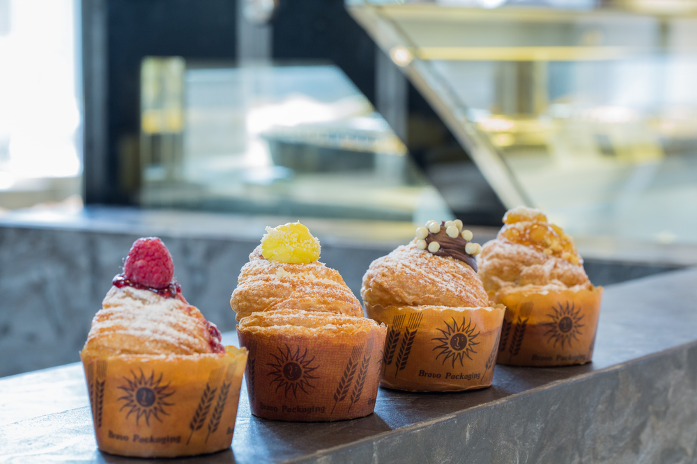 The Cruffin at the Conrad Centennial Singapore comes in Four Flavours  | Photo Credit: Conrad Centennial Singapore