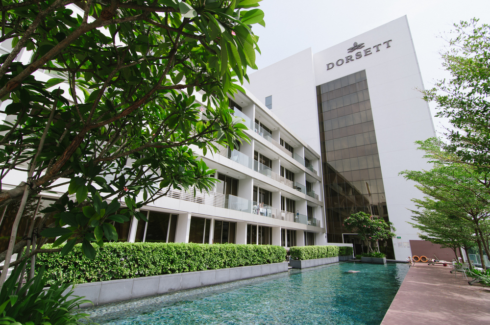 Swimming Pool of Dorsett Singapore