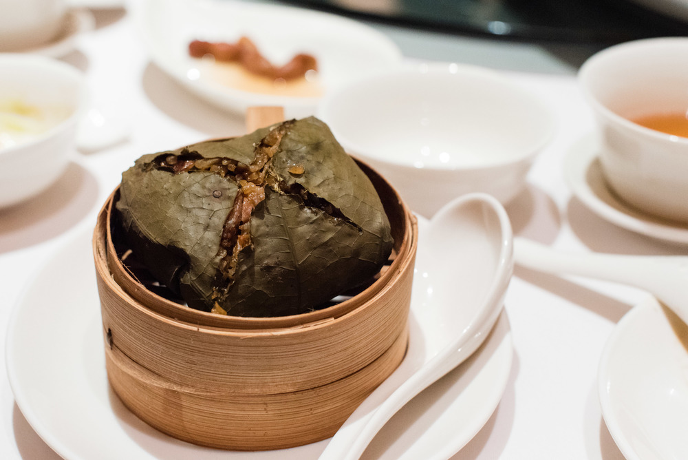 Wok-Fried Lotus Leaf Rice & Waxed Meat (S$12++ per Person)