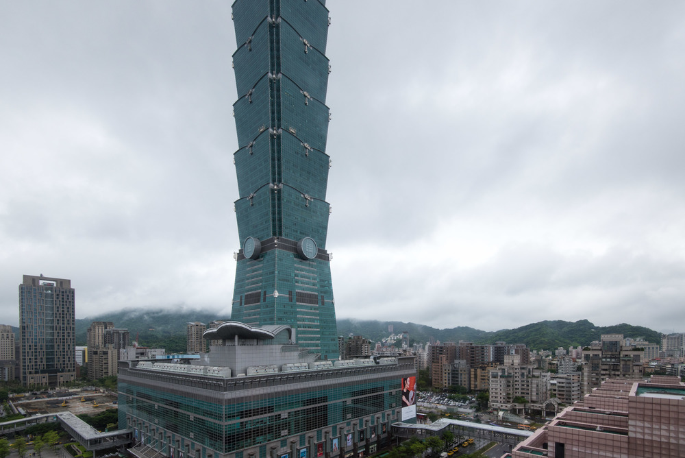 View from the Grand Deluxe Room - Grand Hyatt Taipei