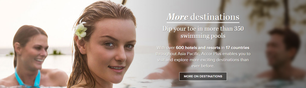 Enjoy great benefits across 600 properties | Photo Credit: Accor Plus