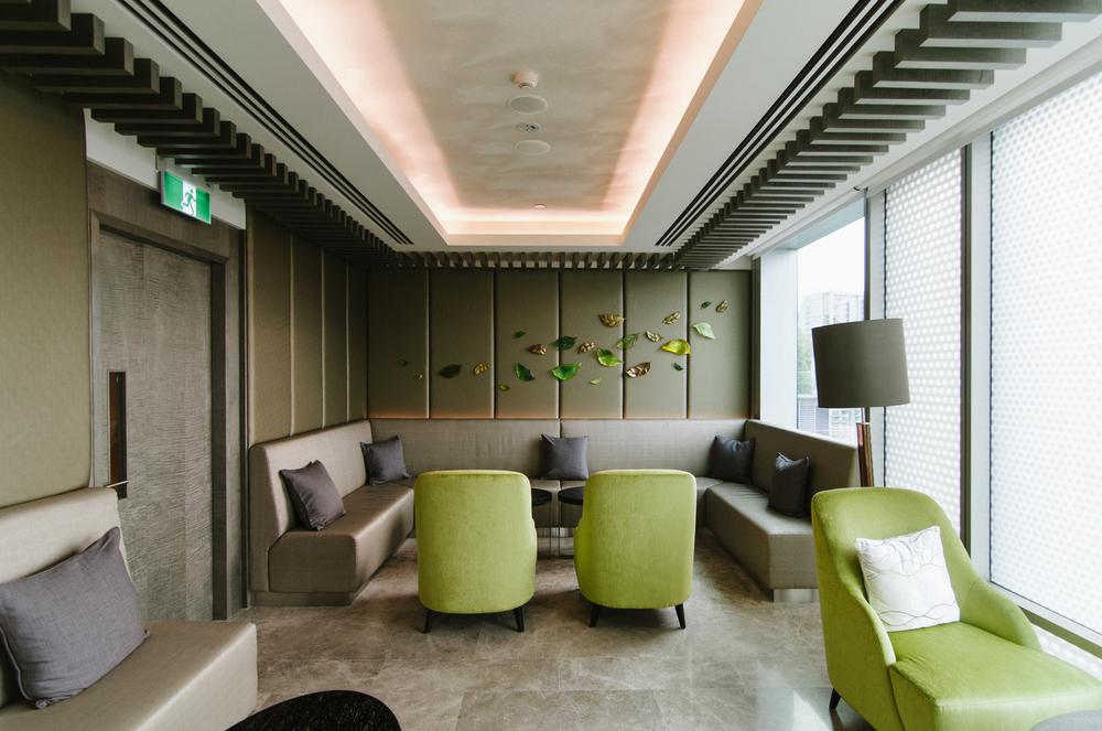 Hotel Jen Orchardgateway Club Lounge