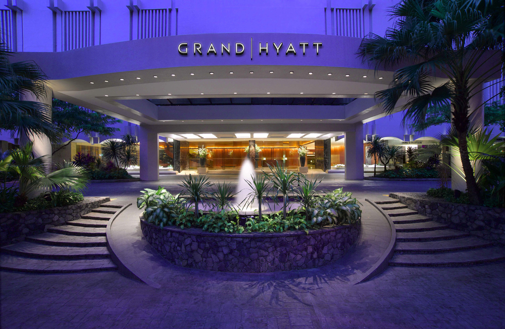 Exterior of the Grand Hyatt Singapore | Photo Credit: Grand Hyatt Singapore