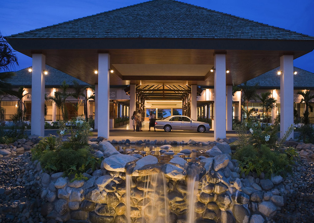 The Grand Entrance | Photo Credit: Sofitel Fiji Resort & Spa
