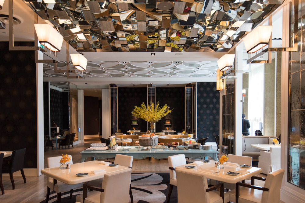 Café Un Deux Trois - Mandarin Oriental, Taipei